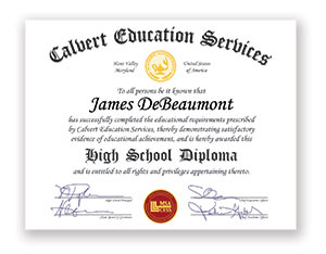 earn your us high school diploma online calvert education how you can earn your high school diploma online