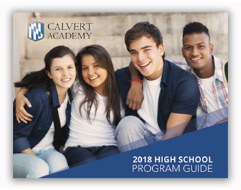 Calvert Academy Online high school program guide