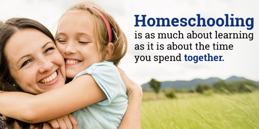 Homeschooling is as much about learning as it is about the time you spend together.